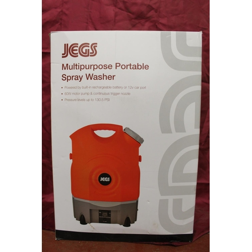 44 - BOXED JEGS PORTABLE SPRAYER (A/F)
