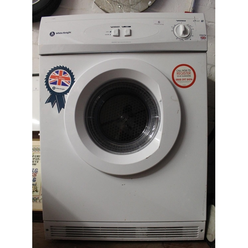 6 - WHITE KNIGHT TUMBLE DRYER (A/F)