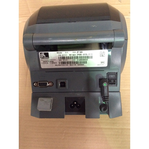 Zebra (fedex badged) ZP 500 plus label printer with serial and USB