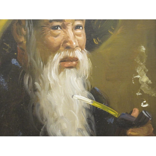 37 - Leonardo Grantham - 'The Basket Maker' oil on canvas bears a signature 24