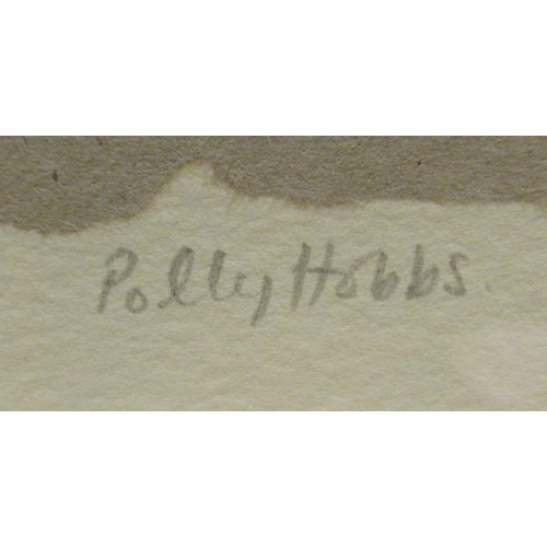 48 - Polly Hobbs - 'Seedlings' Limited Edition 1/20 etching bears a pencil signature 11