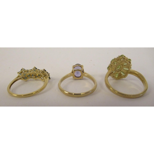 58 - Gold mounted jewellery: to include a 9ct Capelinha sphere ring