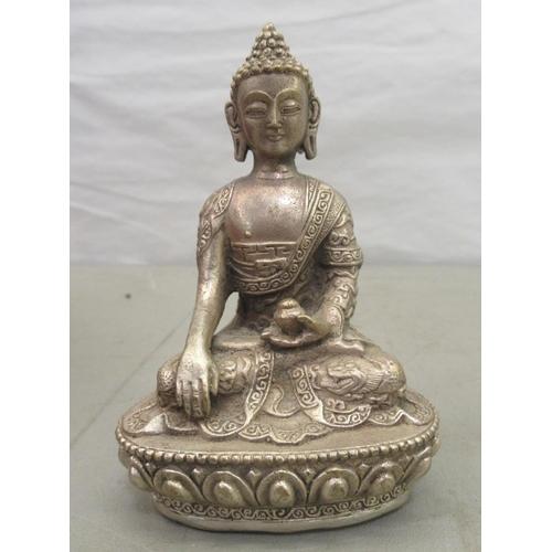12 - A Tibetan ghau, an itinerant Buddhist's prayer box
