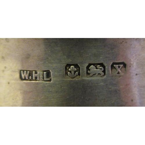 24 - Ten various silver napkin rings mixed marks