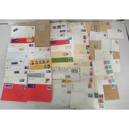 18 - Uncollated British and other used postage stamps: to include Australian, Dutch and USA issues