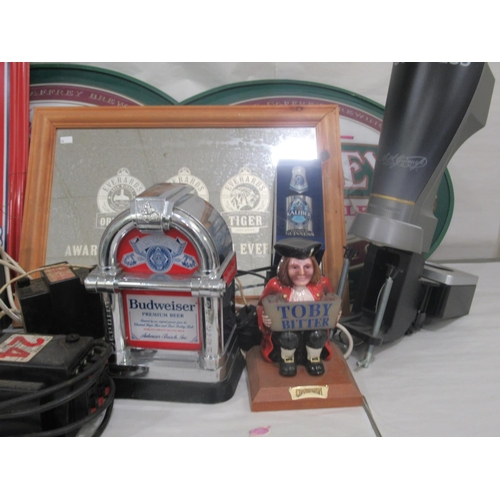 26 - Brewery/pub and soft drink related promotional items: to include a Pepsi Cola thermometer 26
