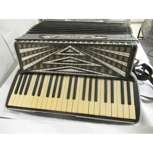 50 - A Soprani of Italy piano accordion cased