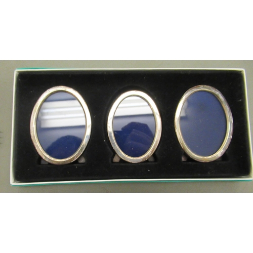 57 - Silver plated and other items: to include a wavy edged tray 14