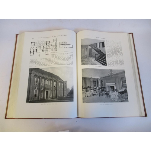 17 - Book: 'Houses and Gardens' by Edwin Lutyens RA with numerous photographic illustrations published by...