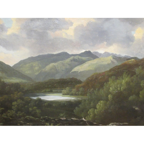 53 - Attributed to Philip Reinagle - 'Westmorland'oil on canvasbears an indistinc...