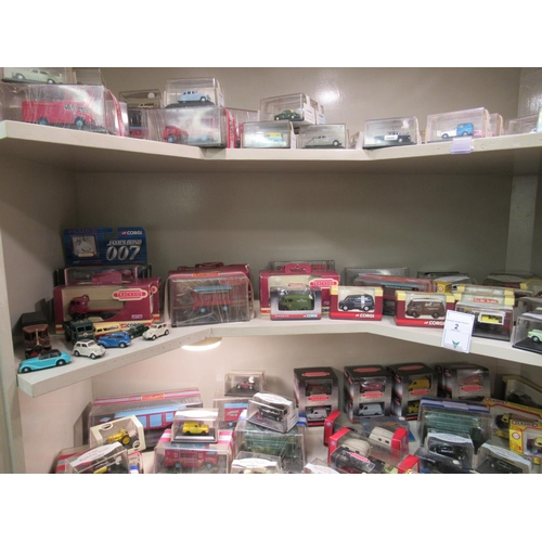 2 - Mainly boxed diecast model vehicles: to include examples by Corgi, Lledo and Oxford, delivery trucks...