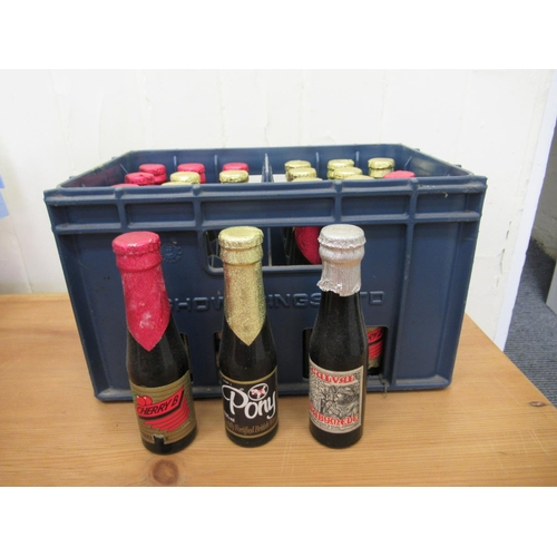 43 - Brewery and other promotional collectables: to include bottles of Pony fortified British wine; a die...