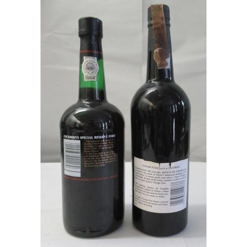 18 - A bottle of Taylor's 1978 vintage port; and another bottle of Cockburn's port