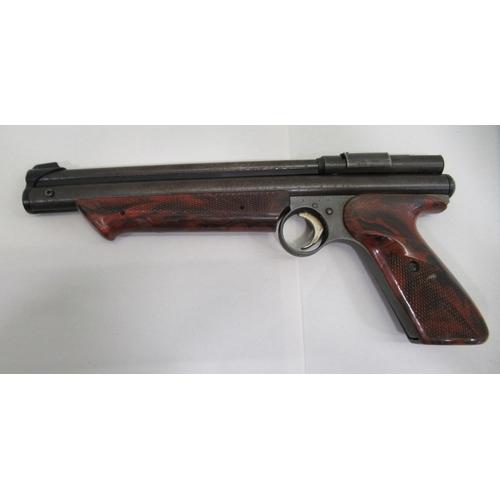 4 - A Crossman Medalist II, model 1300 .22 calibre air pistol