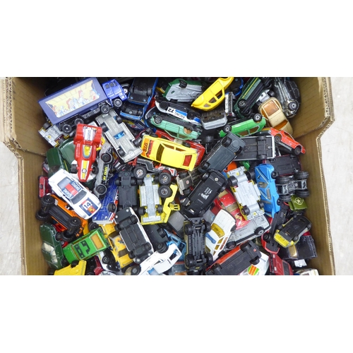 12 - Uncollated diecast model vehicles: to include sports cars, mainly Matchbox