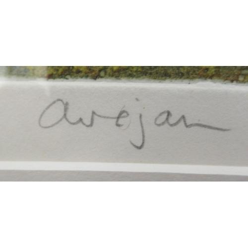 45 - Brenda Hastin - 'Owejan' Limited Edition 8/200 coloured print bears a pencil signature &...