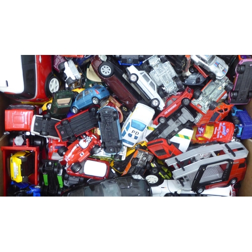 49 - Uncollated diecast model vehicles: to include sports cars, mainly Matchbox