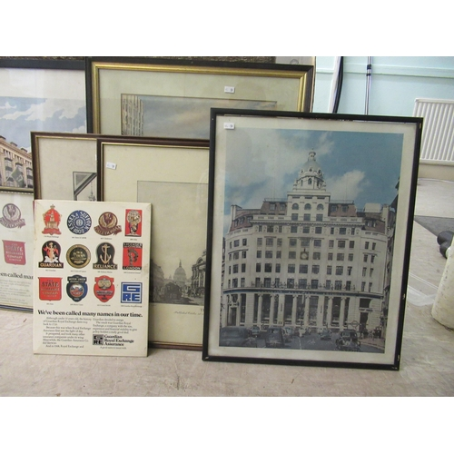 59 - Royal Exchange/Guardian Royal Exchange printed and associated promotional advertisements: to i...