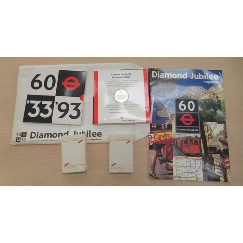 22 - 20thC ephemera, post World War II programmes: to include Concorde, Speedway and Royal events