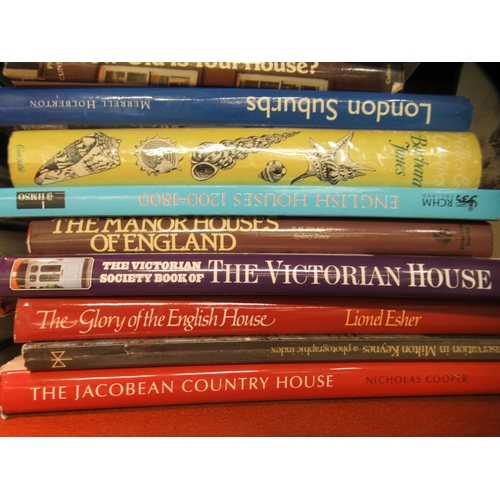 54 - Books: architecture with an emphasis on Georgian buildings