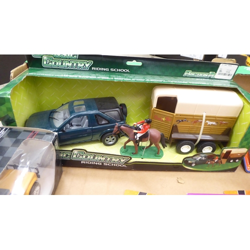 20 - Uncollated diecast model vehicles, recovery, emergency services, sports cars and convertibles: to in...
