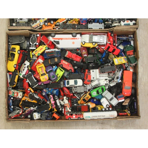 174 - Uncollated diecast model vehicles, sports cars, emergency service and convertibles: to include examp...