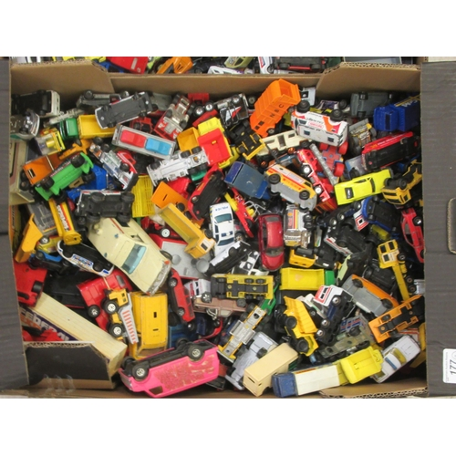 177 - Uncollated diecast model vehicles, sports cars, emergency service and convertibles: to include examp...