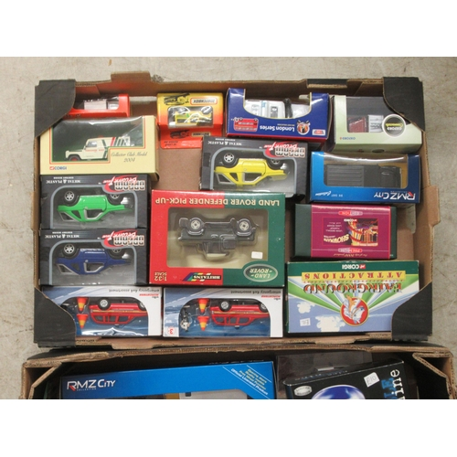 187 - Uncollated boxed diecast model vehicles: to include examples by Corgi, Oxford, Britain's and Matchbo...
