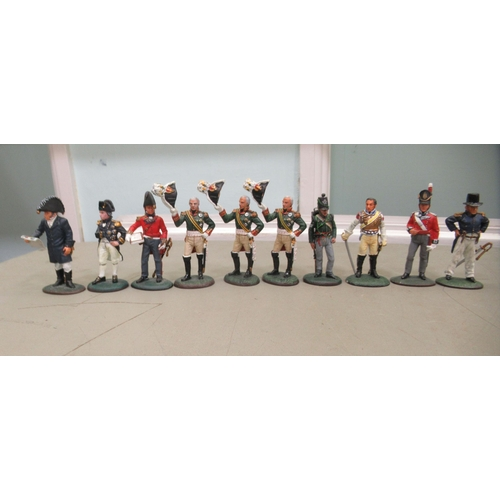200 - Uncollated Del Prado military figures 3