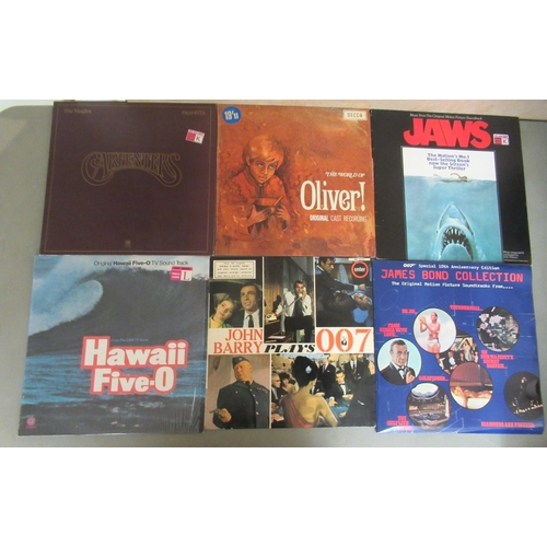 222 - Vinyl albums, mainly rock and pop: to include Elvis Presley, Elton John, The Beatles, Bob Dylan, The...