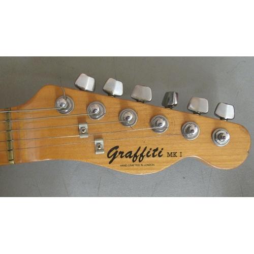 223 - A Graffiti MK1 electric guitar