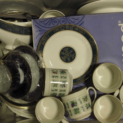 8 - Royal Doulton teawares to include a  'Tapestry' pattern part tea service, a 'Carlyle pattern part te...