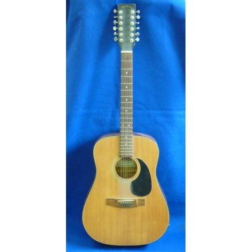 507 - A Sigma Guitars (C.F, Martin & Company) Model DM12-2 twelve-string Acoustic Guitar, individual Seria...