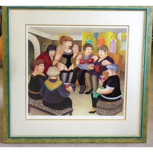 585 - * A framed and glazed Limited Edition (182/650) colour Beryl Cook Print published by Alexander Galle...