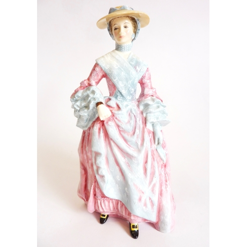 41 - A rare Limited Edition Royal Doulton figure, Mary Countess of Howe HN3007, No. 1007 with certificate...