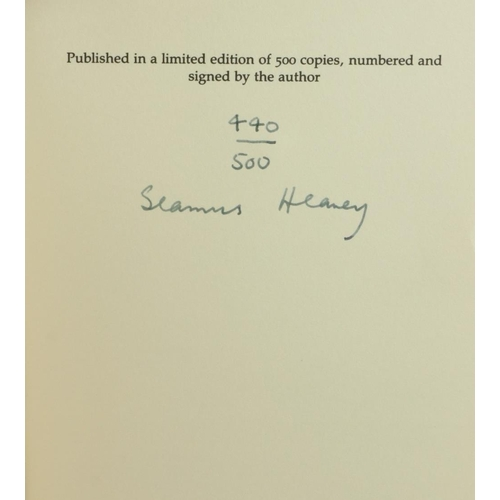35 - Signed Limited Edition  Heaney (Seamus) The Cure at Troy, 8vo, Derry (Field Day) 1990, Signed Ltd. E...
