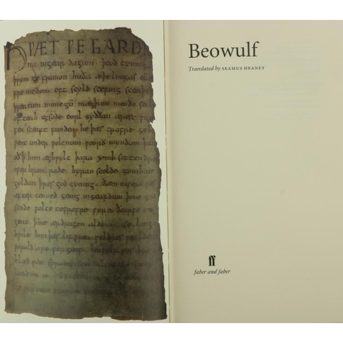40 - Signed Limited Edition  Heaney (Seamus) Beowulf, 8vo L. (Faber & Faber) 1999, Signed Ltd. Edn. No. 9...