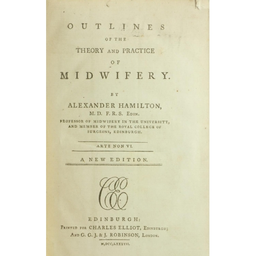45 - Medical: Mihles (Samuel) & Reid (A.) The Elements of Surgery, 8vo L. 1764. Second, 18 fold. plts., P...