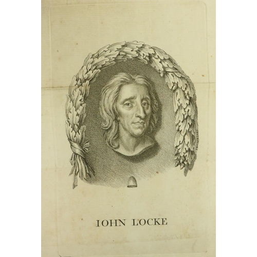 49 - Locke (John) Some Thoughts Concerning Education, to which is added, New Thoughts Concerning Educatio...