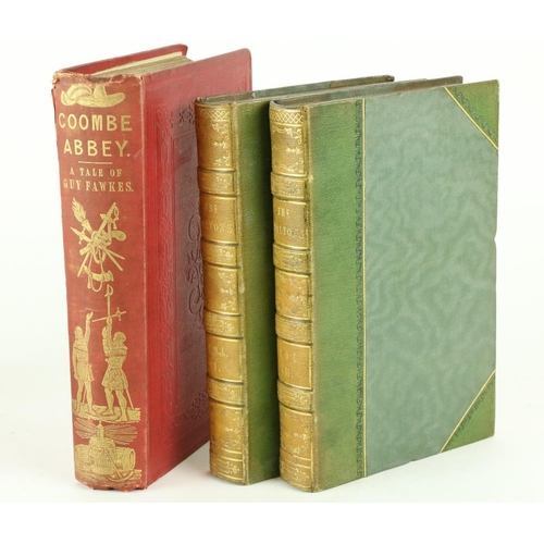 53 - Lever (Chas.) The D'Altons or Three Roads in Life, 2 vols. L. 1852. First Edn., add. engd. title Vol...