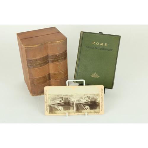 6 - Stereoscope: Underwood & Underwood: Ellison (D.J.) Rome through the Stereoscope, Journeys in and abo...