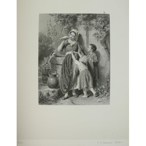 784 - Dafforne (James) Modern Art, A Series of Line Engravings from the Works of Distinguished Painters .....