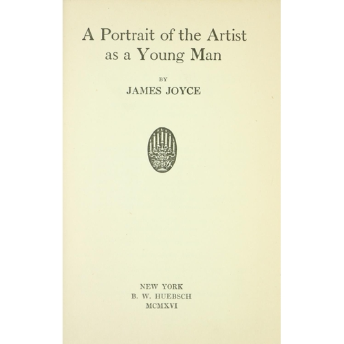 916 - 'Once Upon a Time and a Very Good Time it Was ...'  Joyce (James)   A Portrait of the Artist as a Yo...