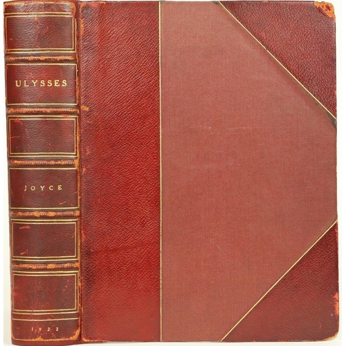 918 - First English Printed Edition of Ulysses  Joyce (James) Ulysses, thick 4to, L. (The Egoist Press) 19...