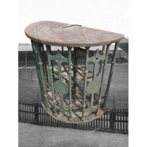 519A - A Relic of G.A.A. History  G.A.A.: Memorabilia, Croke Park [1914] A cast iron Turnstile, by Ellison ...