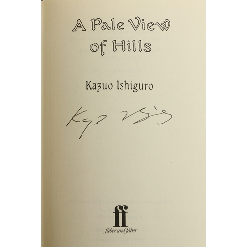 27 - Istiguvo (Kazuo) A Pale View of Hills, 8vo First Edn, L. (Faber & Faber) 1982, Signed on t.p., cloth...