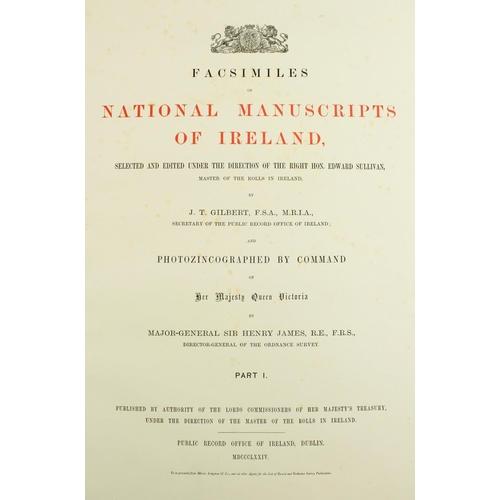 339 - National Manuscripts of IrelandGilbert (John T.) Account of Facsimiles of National Manuscripts of Ir...