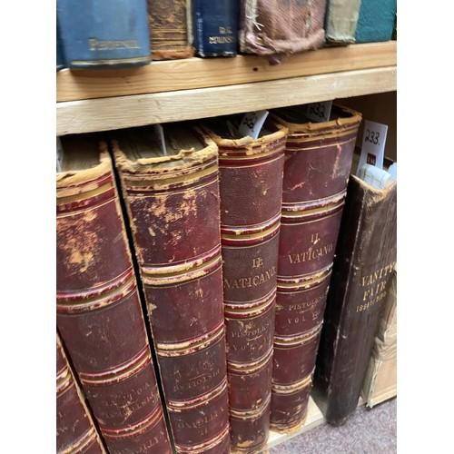 232 - <strong>Pistolesi (Erasmo)</strong><em>Il Vaticano,</em> 8vols. large atlas, folio Rome (Tipografia...