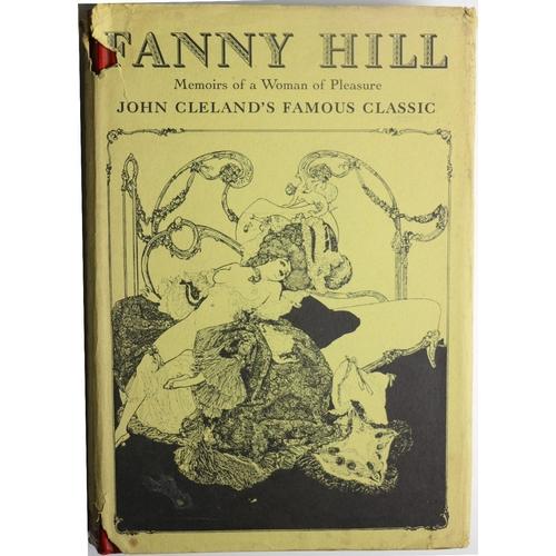59 - Cleland (John) Fanny Hill Memoirs of a Woman of Pleasure, sm. folio L. (Luxor Press) 1963. Engd. fro...