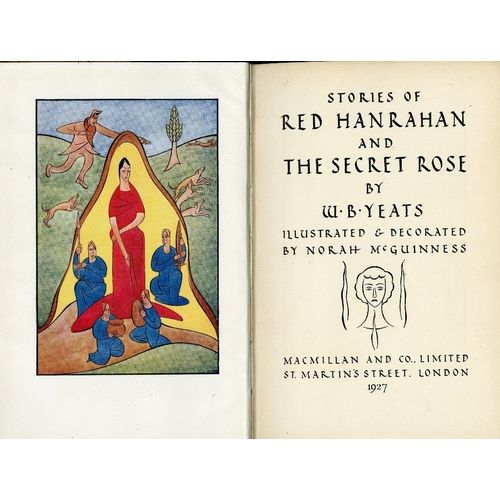 31 - Yeats (W.B.) Stories of Red Hanrahan and The Secret Rose, roy 8vo L. 1927. First Edn., cold. frontis...
